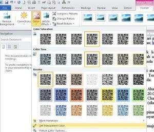 Menjadikan Background Gambar Jadi Transparan Lewat Word Taufik S Weblog